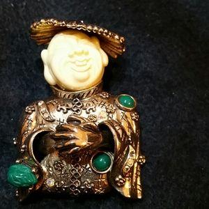 Oriental Brooch